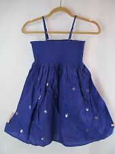 The Childrens Place TCP Girls Size 10 Blue Sequin Babydoll Party Dress Sundress