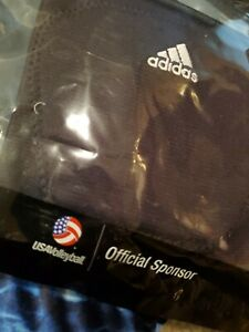 Adidas 5 inch Kneepads medium M med Volleyball Equipment S98577 black 1 pair usa
