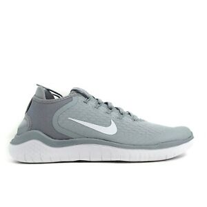 Nike Free RN 2018 Womens Running Shoes Wolf Grey 942837 003 New