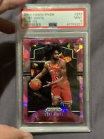 2019 Panini Prizm COBY WHITE Pink Cracked Ice ROOKIE RC PSA 9 Chicago Bulls #253