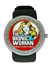 THE BIONIC WOMAN 1976 Bubble Gum On A New Watch