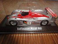Audi-Model Minichamps A8, 2002, Le Mans, 1:43, rot Start-Nr.1