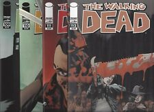 THE WALKING DEAD #109 110 111 112 1ST PRINTINGS IMAGE COMICS!