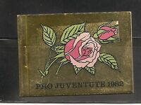 Switzerland SC # Pro Juventute 1982 .Roses.B451( 8)-B452 (8) . Complete Booklet.