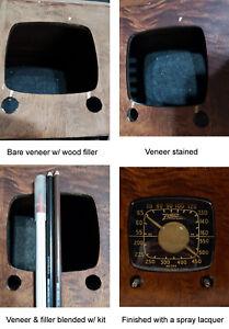 Wood Grain / Graining & Veneer Blemish Blending Kit for Wood Cabinet Restoration