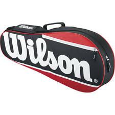 Tennis Racket Bag Wilson Adjustable Padded Strap Small Accessory Pocket