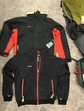 New Columbia Bugaboo 3in1 Vintage Jacket Rain Cover + Fleece Bomber Mens Large