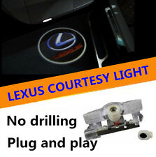 2x LEXUS Door Welcome Projector/Puddle LED Laser Light IS ES GS RX LX RC NX LS
