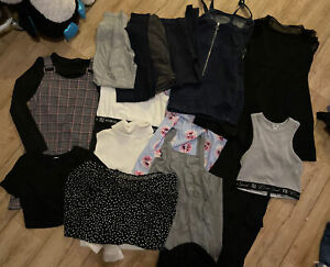 girls clothes bundle 9-10 years - Primark, River Island, Shien - Dresses Legging