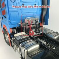 Welding Cab Linking Pressure Tube Wire with Holder for 1/14 Tamiya 3363 RC Car