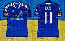 ●RARE MATCH WORN SIGNED SHIRT IDEYE DYNAMO KYIV EUROPA LEAGUE 2012/2013 PLAYOFF●