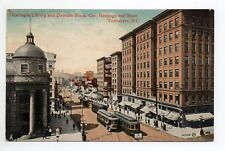 CANADA carte postale ancienne VANCOUVER carnegie library and dawson block