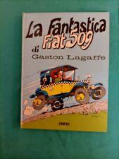 A. Franquin: La fantastica fiat 509 di Gaston Lagaffe - 1977- 1^ ed. - Fiat