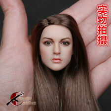 Super KIMI TOYS  1/6  Female figure head Sculpt  For  HT VERYCOOL PHICEN Body