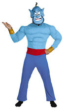 Aladdin Genie Muscle Adult Standard Size Costume 44