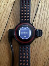 Garmin~Forerunner~220~Run ners Watch Gps Fitness~With Charger ~Used Few Times~