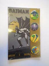 Batman Button Collection     Bob Kane     Original Package     1989