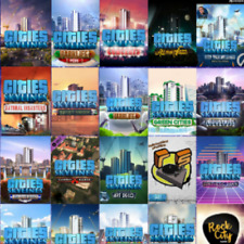 Cities Skylines ALL Expansion Packs DLC in variations Region Free PC KEY (Steam)