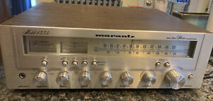 Vintage Marantz Model 1535 AM/FM Stereo Receiver Tuner All Working Clean Classic