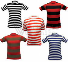 Unbranded Boys' Striped Crew Neck T-Shirts & Tops (2-16 Years)