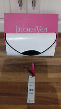 pearl coloured top quality expensiveJACQUES VERT LEATHER DESIGNER clutch bag £79
