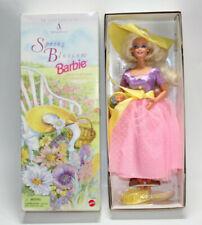 "1995 ""SPRING BLOSSOM BARBIE"" Avon Exclusive 1st In Series Mattel"