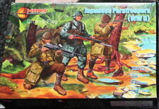 Mars 32019. Japanese Paratroopers WWII. Plastic 1/32 Scale Figures