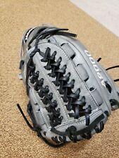 """WILSON A2000 – D33 11.75"""" RHT Baseball, Gray, Black & White"""
