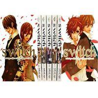 Manga switch New Edition VOL.1-7 Comics Complete Set Japan Comic F/S