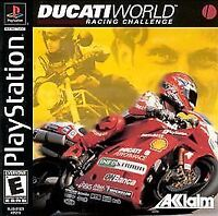 Ducati World Racing Challenge (Sony PlayStation 1, 2001) PS1 Complete
