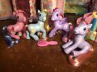 My Little Pony MLP G3 Lot of 4 Wind Drifter Party Cake Starsong Rainbow Swirl