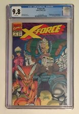 X-FORCE #1 • 1991 • NEWSSTAND VARIANT • CGC 9.8 • DEADPOOL CABLE MOVIE • RAREST!