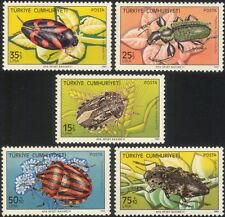 Turkey 1983 Harmful Insects/Pests/Beetles/Flies/Bugs/Nature 5v set (n44889)