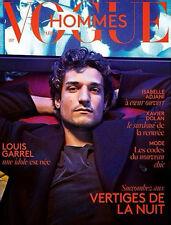 VOGUE Hommes International Magazine 20,Louis Garrel,Xavier Dolan FRENCH