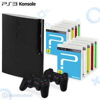 Playstation 3 Konsole + Controller + Spiele / Großes Sony PS3 Set