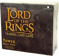 LORD OF THE Rings Tower Draft Pack BOOSTER Box CCG Factory Sealed Look