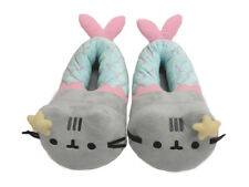 New And Original 3D Plush Pusheen Mermaid 3D Women's Kids Slippers Comfortable