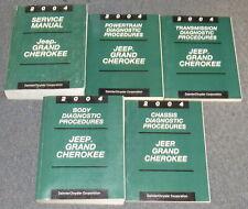 2004 Jeep Grand Cherokee Service & Diagnostic Manual Set