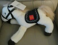 "NEW with tag Wells Fargo 14"" plush horse El Toro excellent clean condition"