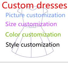 2018 Custom flower girl wedding dress cocktail Gown
