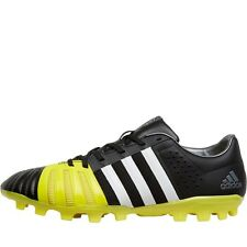 ADIDAS FF80 PRO 2.0 AG RUGBY BOOTS - BLACK/WHITE/BRIGHT YELLOW – SIZE 7 - BNIB