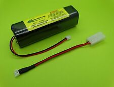 2700mA SANYO Tx BATTERY FITS JR SPEKTRUM DX6 , DX7 CELL MADE IN JAPAN!