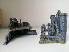 Games Workshop Warhammer 40K Gothic Ruins Scenery Ruined Buildings Painted
