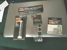 Lot Pinewood Derby Car Accessories Wheels, Axles, Weights/ Parts, Lubricant more