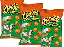 3 X CHEETOS 'PELOTAZOS', CHEESEBALLS SNACKS, 162G (UK SELLER/FAST DELIVERY)
