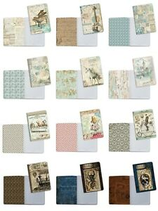 CLEARANCE SALE Stamperia A5 Notebooks with Beautiful Images Your Choice New
