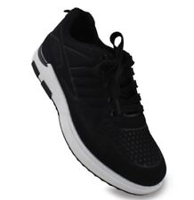 Bert Low Cut High Quality Sports Training Running Rubber Shoes BLACK SIZE 41