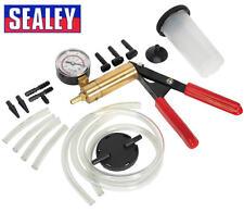 Sealey VS4021 Engine Vacuum Diagnostic/Tester+ Brake/Clutch Bleeding/Bleeder Kit