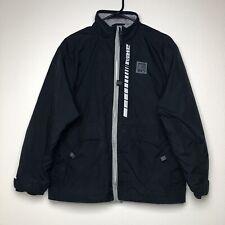 Vintage Nike Zip Up Jacket Sz XL Headphone Front Pockets Black RN 56323 CA 05553