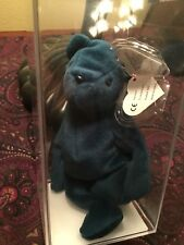 "Beanie Baby ""Jade- OF Teddy "" German/ Korean (2nd/ 1st) Authenticated!!"